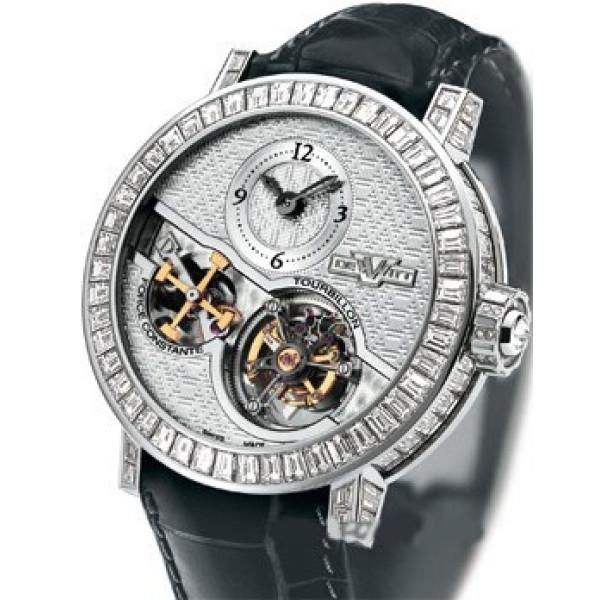 DeWitt watches Pieces d`Exception Tourbillon Force constante Limited Edition 25
