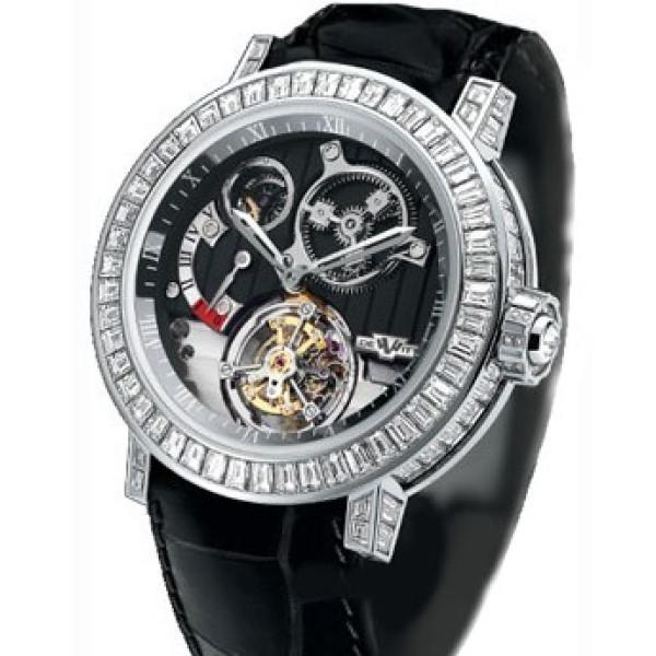 DeWitt watches Pieces dException Tourbillon Diffrentiel Joaillerie