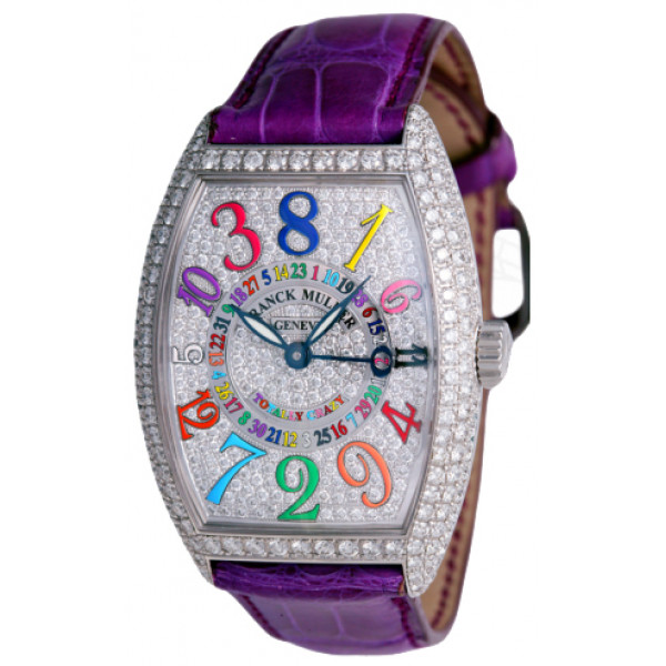 Franck Muller watches Totally Crazy