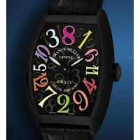 Franck Muller watches Crazy Hours Color Dreams Black Stainless Steel