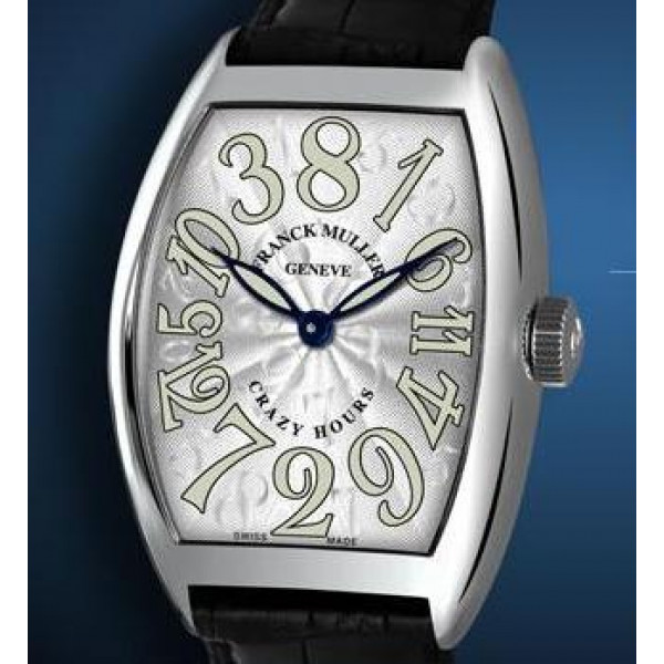 Franck Muller watches Crazy Hours White Dial with Luminescent Numbers