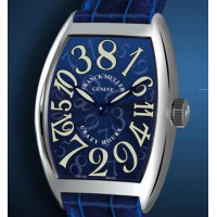 Franck Muller watches Crazy Hours Blue Dial