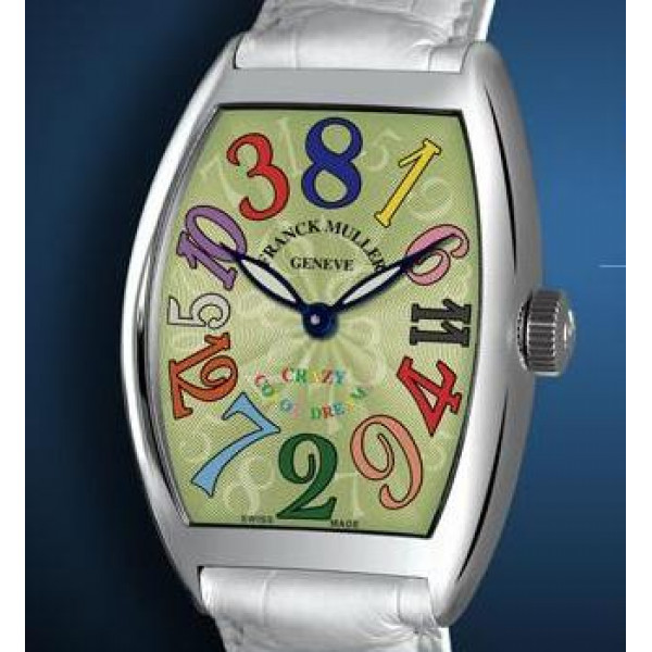 Franck Muller watches Crazy Hours Color Dreams Green Dial