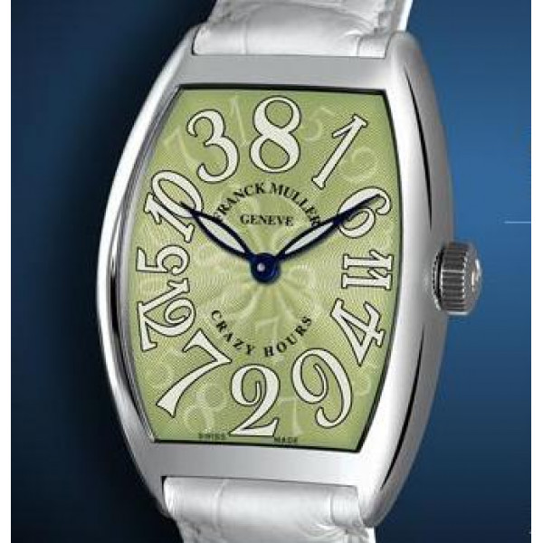 Franck Muller watches Crazy Hours Green Dial