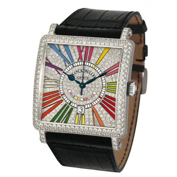 Franck Muller watches Master Square Diamond Color Dreams