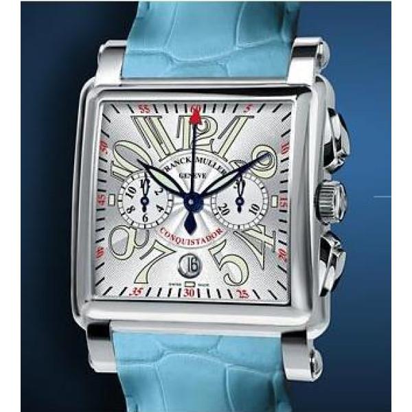 Franck Muller watches Conquistador Cortez Chronograph Blue