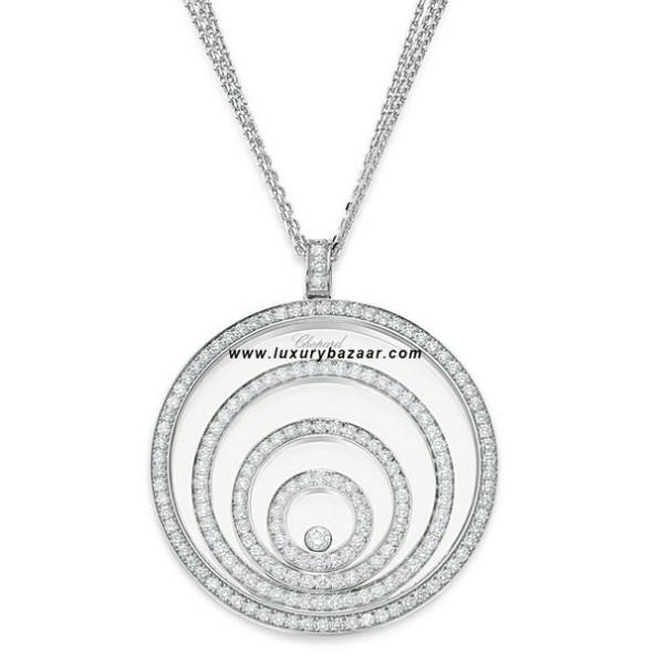 Chopard Happy Spirit 3 Floating Diamond Set Circles 6