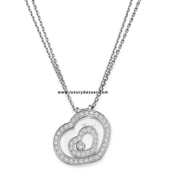 Chopard Happy Spirit Diamond Set Small Floating Heart 5