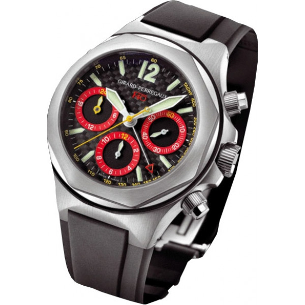 Girard Perregaux watches F 40 (SS / Black / Rubber)
