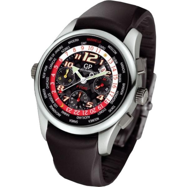 Girard Perregaux watches ww.tc F1 053  chronograph (Titanium / Black / Rubber)