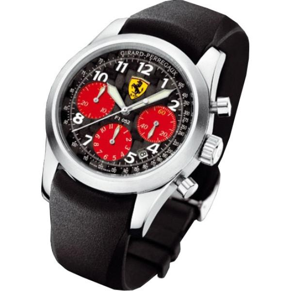 Girard Perregaux watches F1 052  chronographe (Titanium / Black / Rubber)