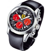 Girard Perregaux watches F1-WORLD CHAMPION 2002  chronograph (SS / Black / Rubber)