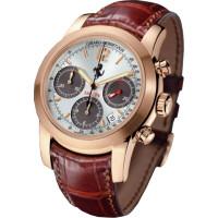 Girard Perregaux watches 330 / P4 Chronograph (RG / White / Leather)