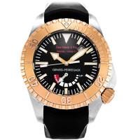 Girard Perregaux watches Sea Hawk II Pro 3000 (RG / Black / Rubber)
