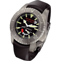 Girard Perregaux watches Sea Hawk II Pro 3000 (Titanium / Black / Rubber)