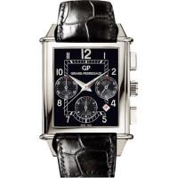 Girard Perregaux watches Vintage 1945 XXL Chronograph (WG / Black / Leather)
