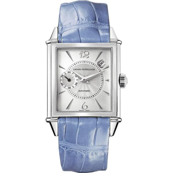 Girard Perregaux watches Vintage 1945 Original (SS / White / Leather)