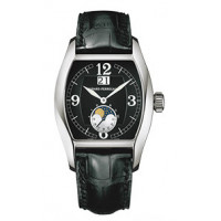Girard Perregaux watches Richeville Large Date (WG / Black / Leather)