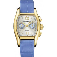 Girard Perregaux watches Richeville Lady (YG / Silver / Leather)