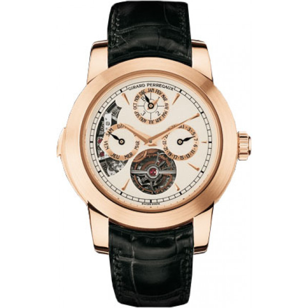 Girard Perregaux watches Opera Two Tourbillon, Westminster minute repeater, perpetual calendar