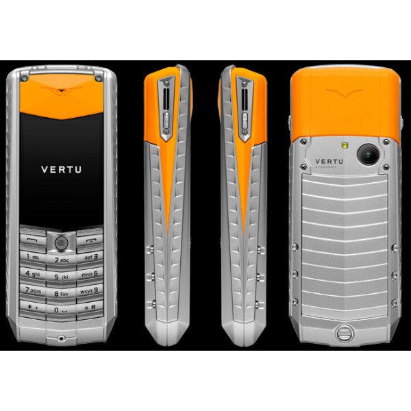 Vertu Ascent X Orange Rubber