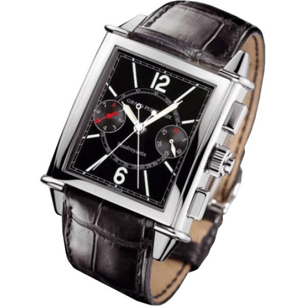 Girard Perregaux watches Vintage 1945 XXL Split Seconds Foudroyante (White Gold)