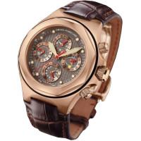 Girard Perregaux watches Laureato Evo3 Perpetual Calendar Chronograph (Rose Gold)