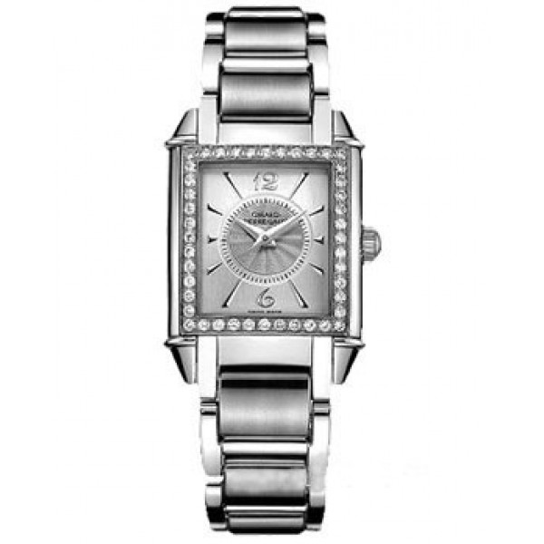 Girard Perregaux watches Vintage 1945 Lady (SS-Diamonds / Silver / SS)
