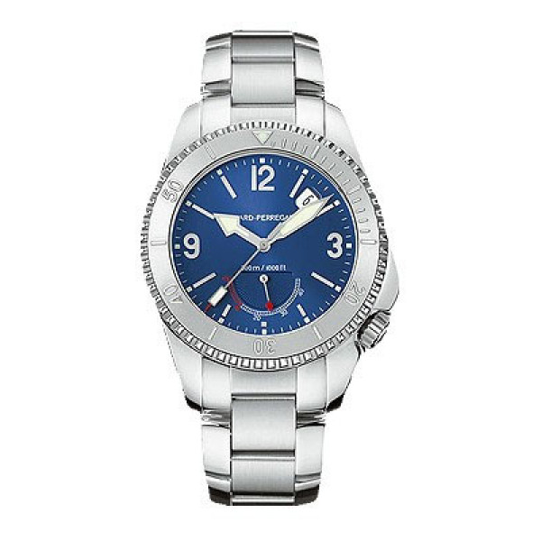 Girard Perregaux watches Sea Hawk II (SS / Blue / SS)