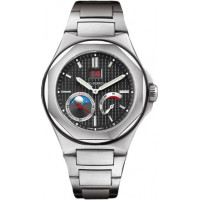 Girard Perregaux watches LAUREATO Large date, moon phases, power reserve