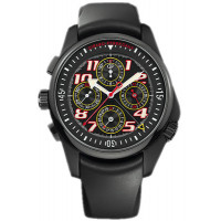 Girard Perregaux watches R&D 01 Chronograph (PVD / Black / Rubber)