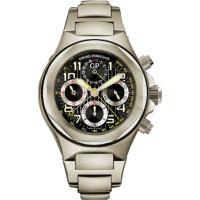 Girard Perregaux watches Laureato Evo 3 Chronograph (Titanium / Black / Titanium)