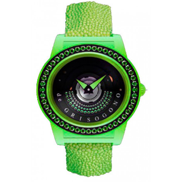 deGrisogono watches Tondo by Night Green