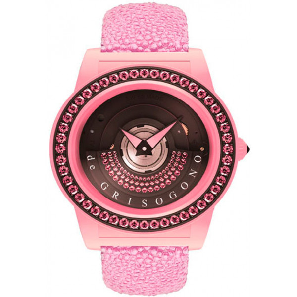 deGrisogono watches Tondo by Night Pink