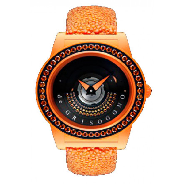 deGrisogono watches Tondo by Night Orange