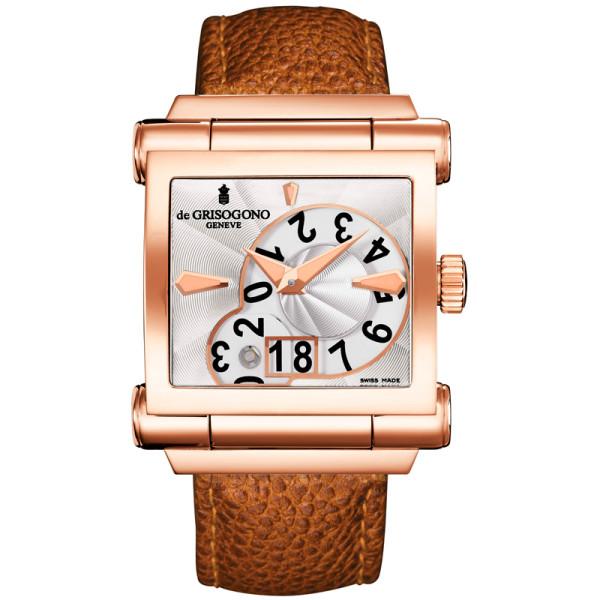 deGrisogono watches Instrumento Grande Open Date