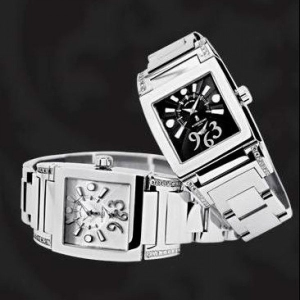 deGrisogono watches Instrumentino Steel & Diamonds