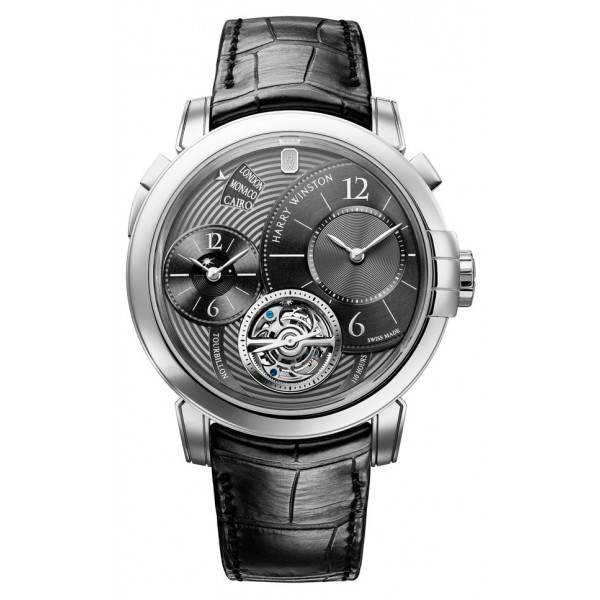 Harry Winston watches Midnight GMT Tourbillon For Only Watch 2011