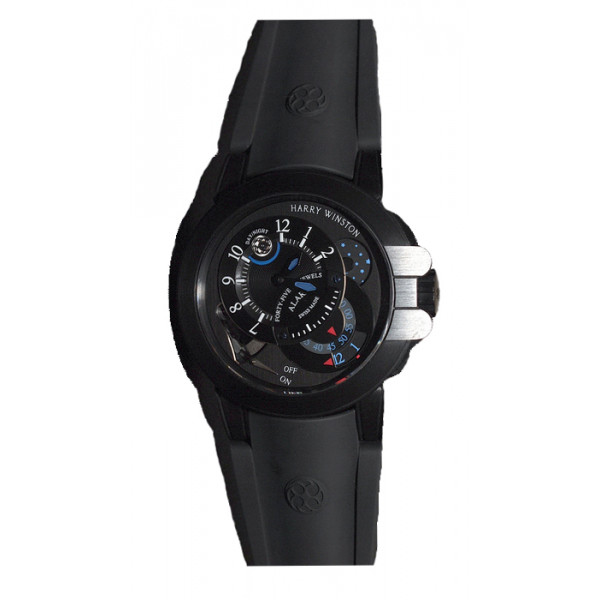 Harry Winston watches Project Z6 Black Edition Alarm Limited Edition 300