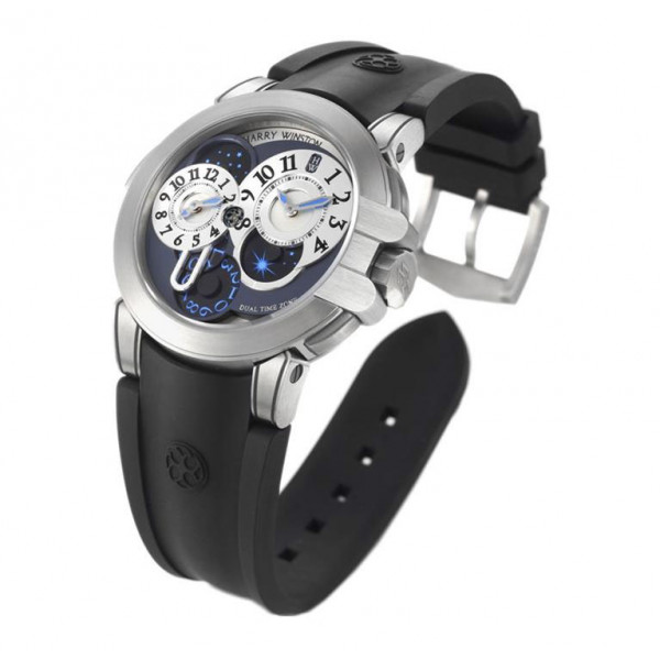 Harry Winston watches Project Z4 silvered white dial Limited-Edition-300