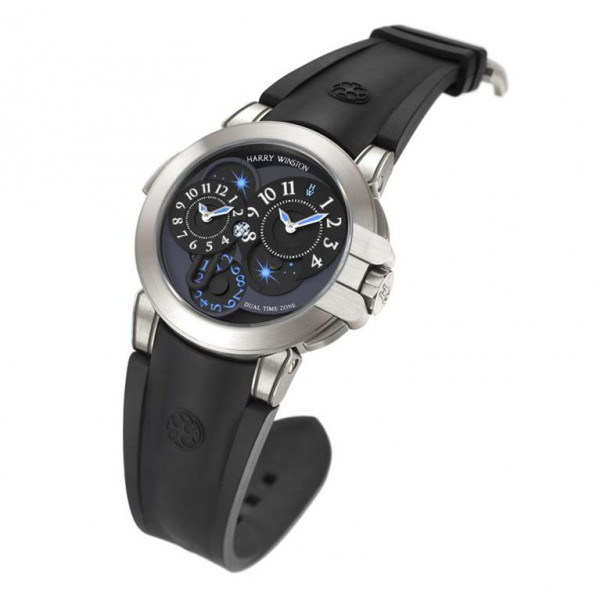 Harry Winston watches Project Z4 black dial Limited-Edition-300
