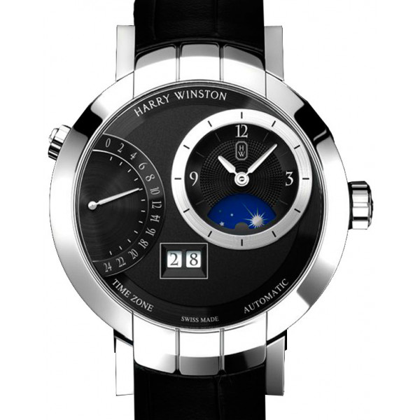 Harry Winston watches Excenter TimeZone