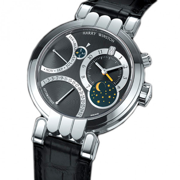 Harry Winston watches Excenter Perpetual Calendar