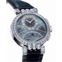Harry Winston watches Excenter Chrono (WG_Diamonds / Black MOP)