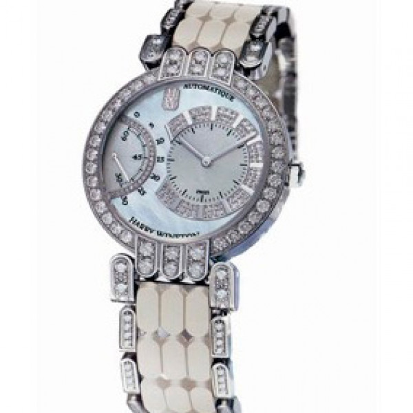 Harry Winston watches Excenter (WG / MOP / WG)