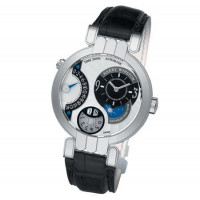 Harry Winston watches Timezone with white dial