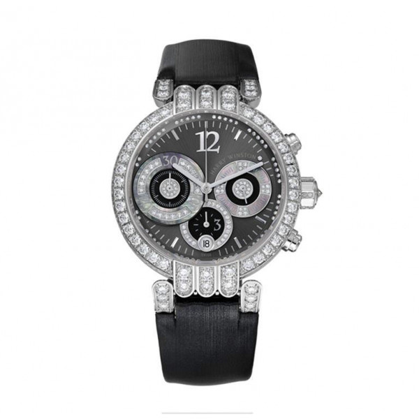 Harry Winston watches Large Chronograph with anthracite sunray dial