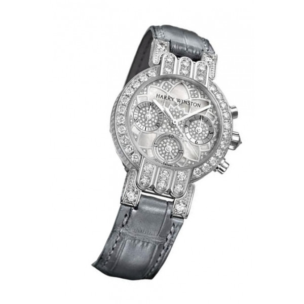Harry Winston watches Chronograph with Lotus dial