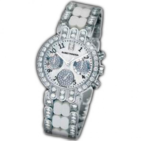 Harry Winston watches Lady Chrono (WG / MOP / WG)