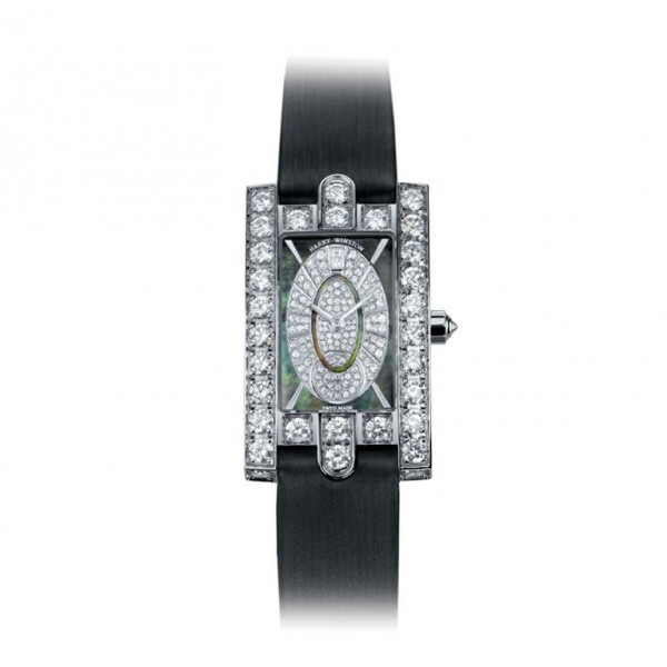 Harry Winston watches Avenue Classic with oval diamond dial
